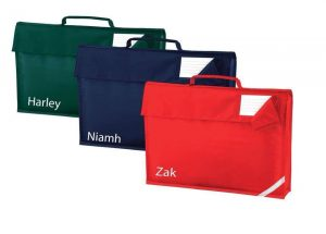 Name printing on School bags and Gym Bags by T-Shirts2U
