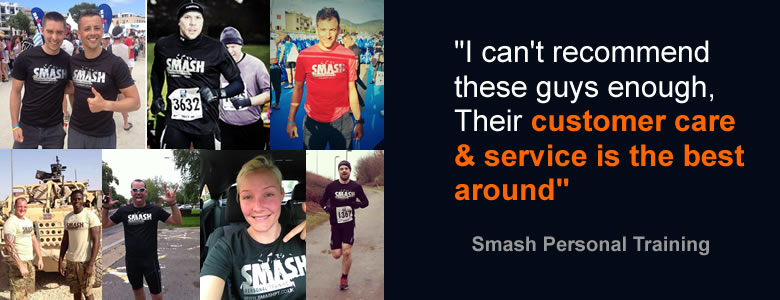 Smash Personal Trainer testimonial